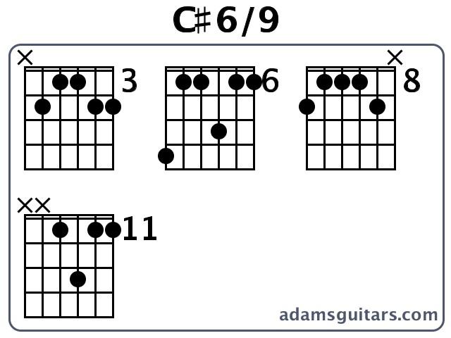 C69 Guitar Chords From Adamsguitars