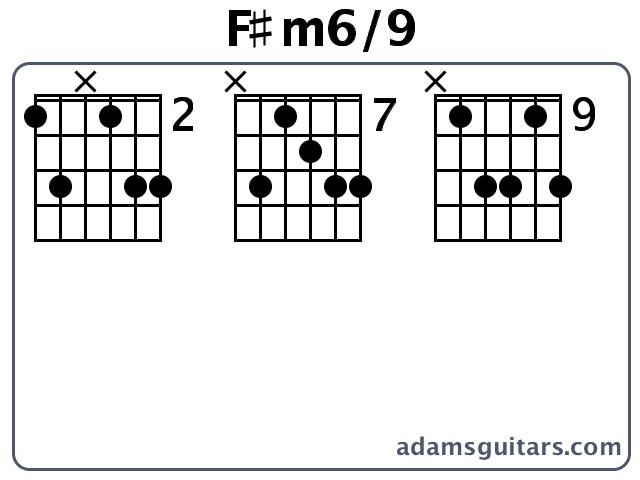 Fm69 Guitar Chords From Adamsguitars