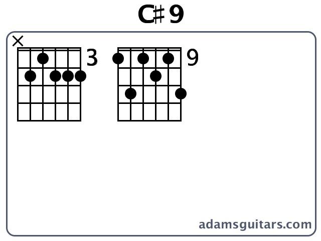 C9 Guitar Chords From Adamsguitars