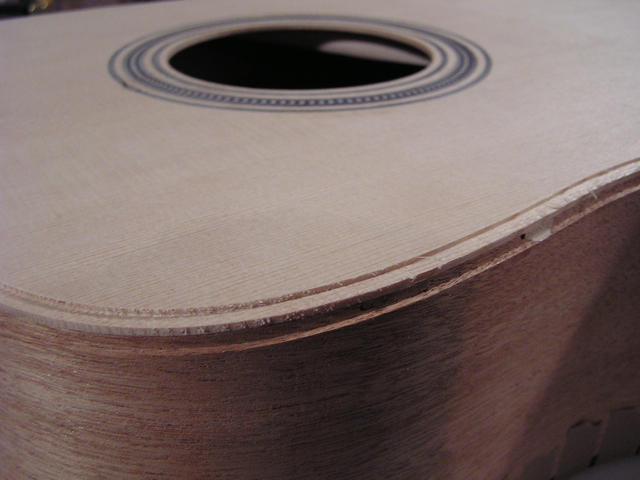 Adams Guitars SD001 Binding Channel