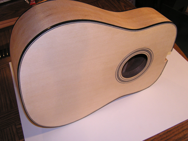 Adams Guitars SD001 Herringbone Trim