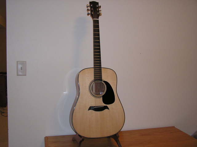 Adams Guitars SD001 Final Assembly