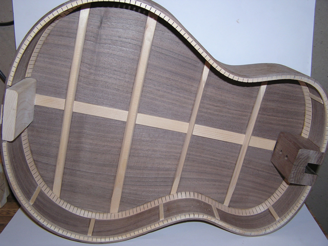 Adams Guitars SJ002 Back and Ribs