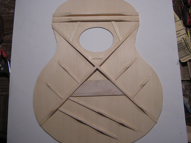 Adams Guitars SJ002 Top Braces