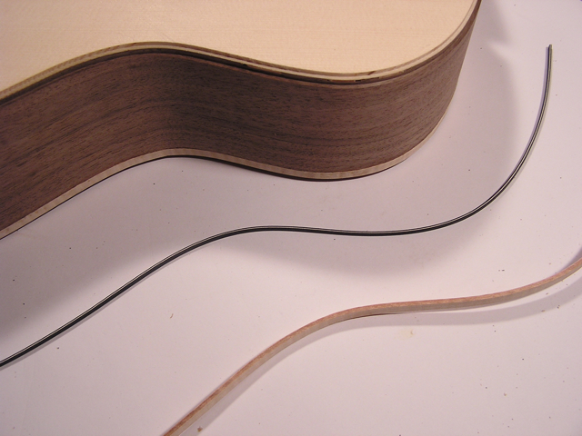 Adams Guitars SJ002 Maple Binding