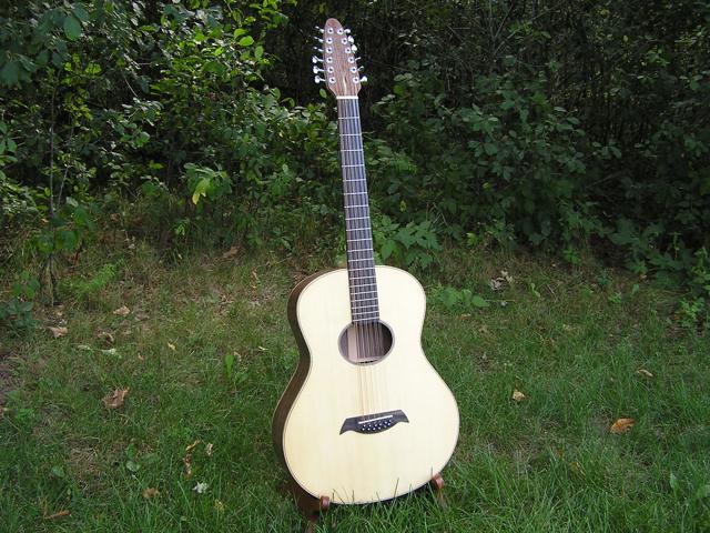Adams Guitars SJ002 Final Assembly