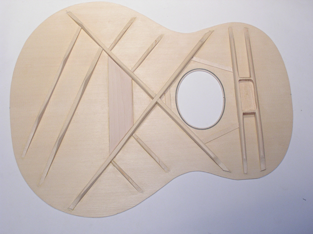 Adams Guitars SJ003 Top Braces
