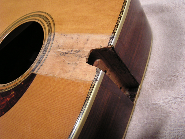 Adams Guitars Mossman Neck Reset